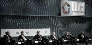 Na foto: os líderes de cada país do bloco do BRICS