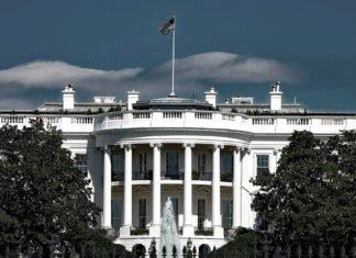 foto da casa branca representando o impeachment de trump